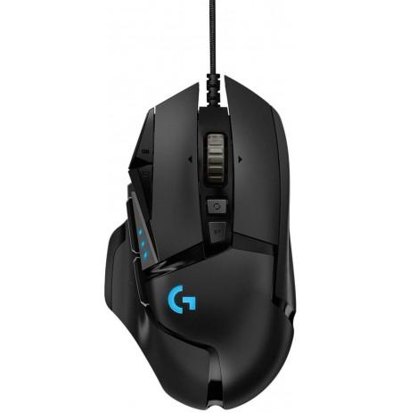 LOGITECH G502 HERO laidinė pelė | 16 000 DPI