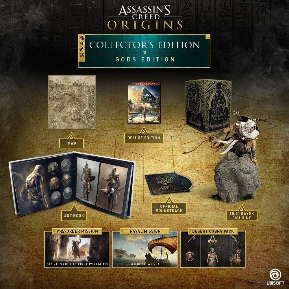 Assassin´s Creed Origins Gods Edition