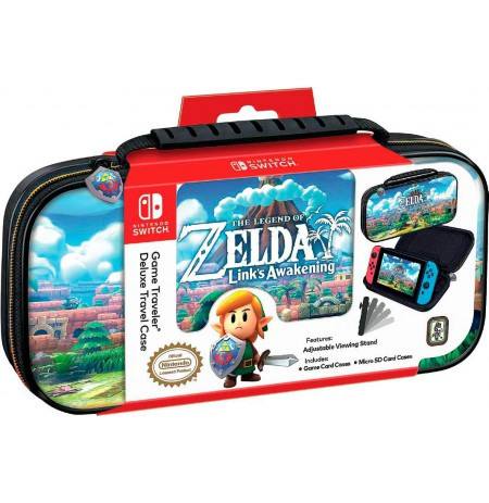 Game Traveler Deluxe Travel Case The Legend of Zelda Link's Awakening