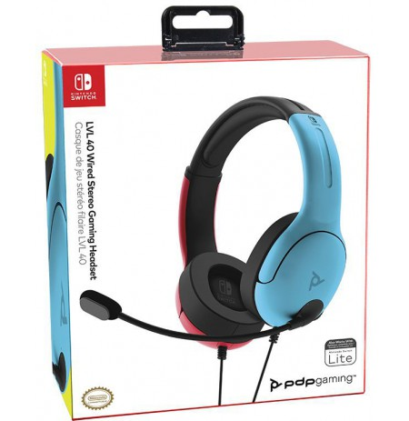 PDP LVL40 wired headphones For Nintendo Switch
