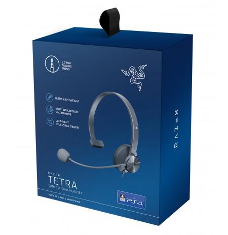 RAZER Tetra juodos laidinės ausinės su mikrofonu | 3.5mm