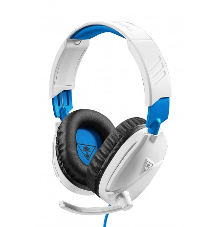 Turtle Beach Recon 70 White Blue wired headphones | 3.5mm