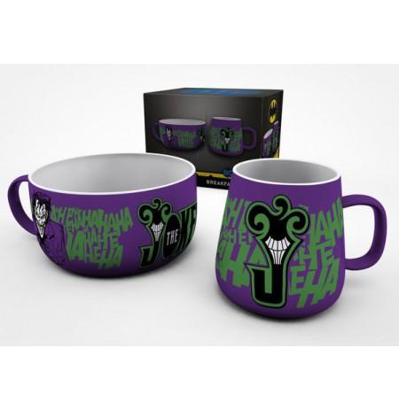 DC COMICS The Joker pusryčių puodelių rinkinys