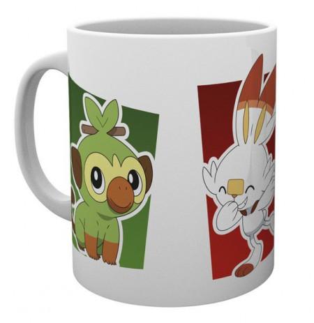 POKEMON Galar Starters Mug