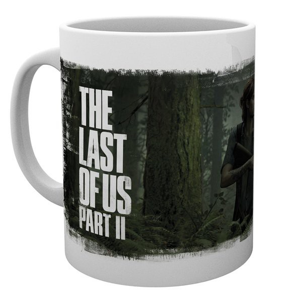 THE LAST OF US PART II Key Art puodukas