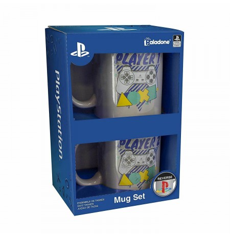 PLAYSTATION - PLAYER ONE AND PLAYER TWO Mug set 300ml