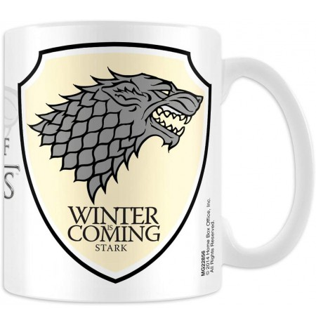 GAME OF THRONES - STARK LOGO puodukas