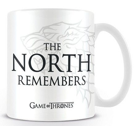 GAME OF THRONES - THE NORTH REMEMBERS puodukas