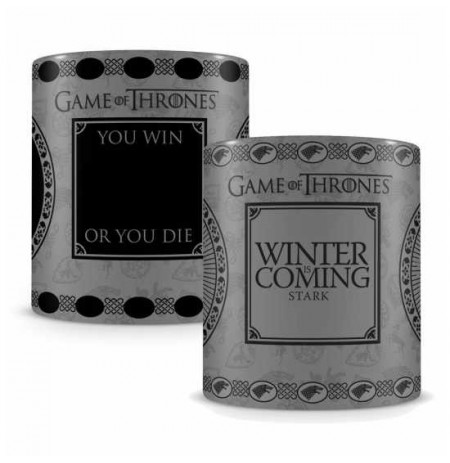 GAME OF THRONES - STARK Heat Change Mug