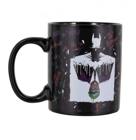 DC COMICS - BATMAN AND THE JOKER Heat Change Mug