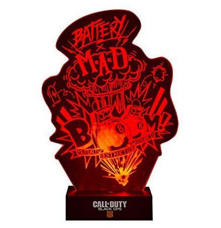 Call of Duty Black Ops 4 Boom! Acrylic lempa 20cm
