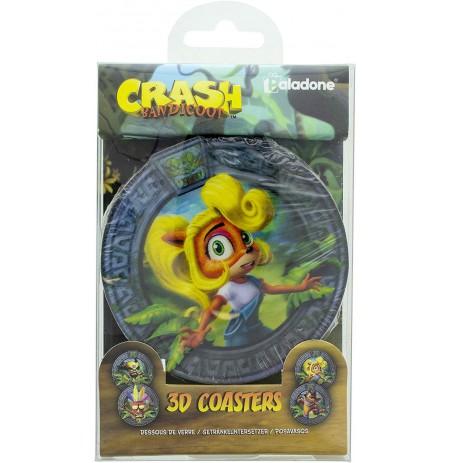 Crash Bandicoot 3D  padėkliukai