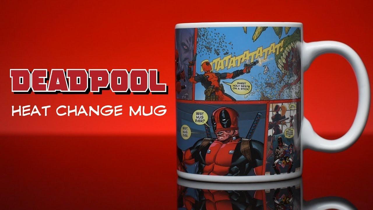 Marvel Deadpool Heat Change Mug Official New