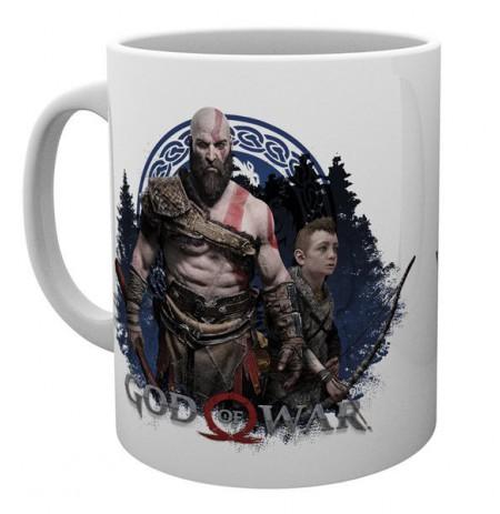GOD OF WAR Be A Warrior Mug