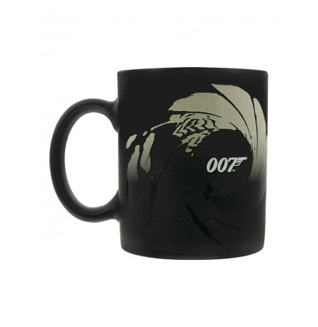 James Bond (Gunbarrel) Heat Change Mug