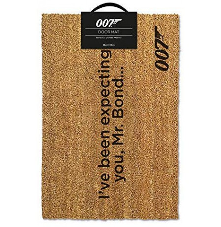 James Bond I've Been Expecting You doormat | 60x40cm