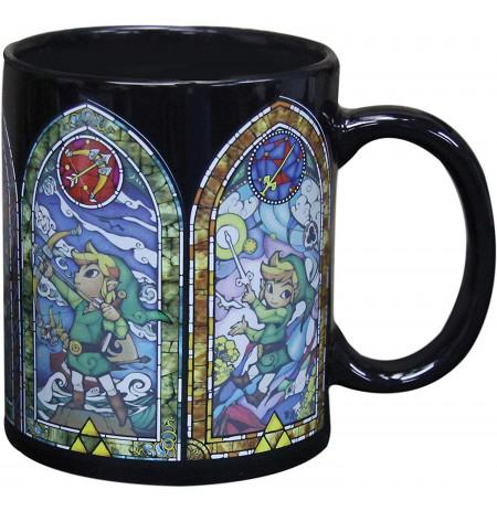 The Legend of Zelda - Link spalvą keičiantis puodukas