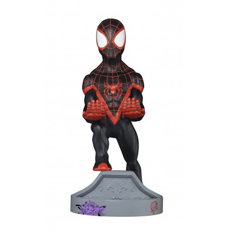Spider-Man Miles Morales Cable Guy stand