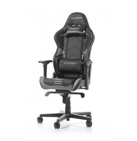 DXRACER RACING PRO SERIES R131-NG pilka ergonominė kėdė