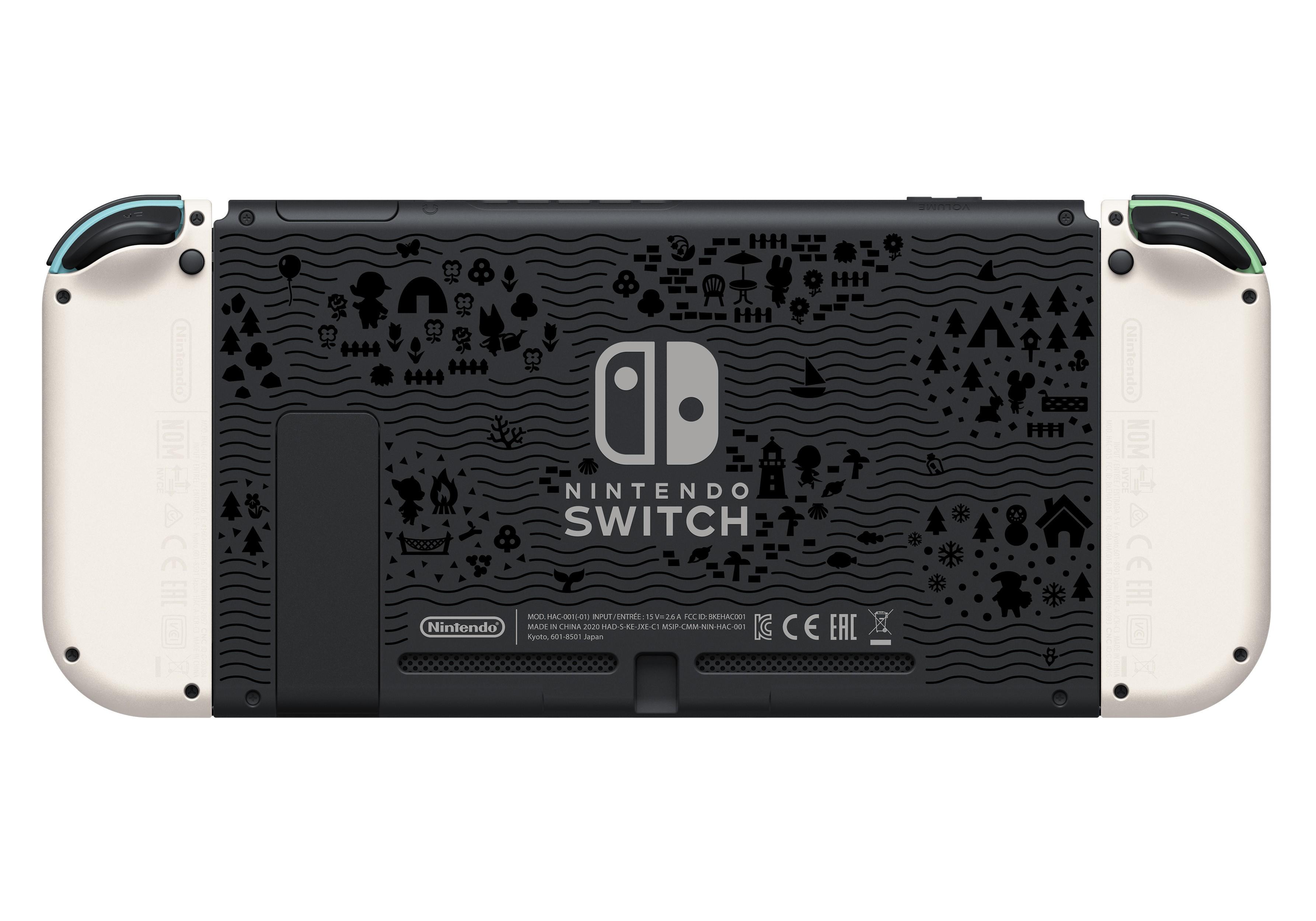 Nintendo Switch konsolė Animal Crossing edition V1.1