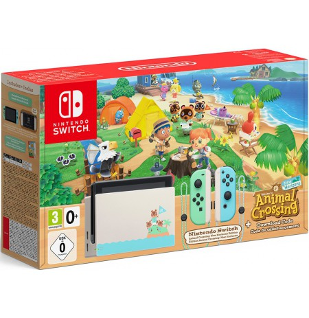 Nintendo Switch konsolė Animal Crossing edition V1.1