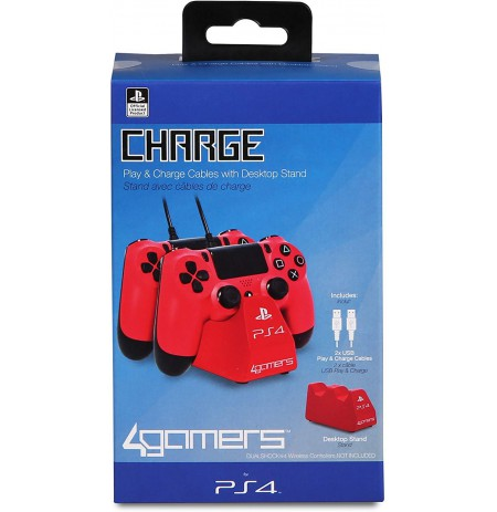 Charge Play and Charge Cables - Red