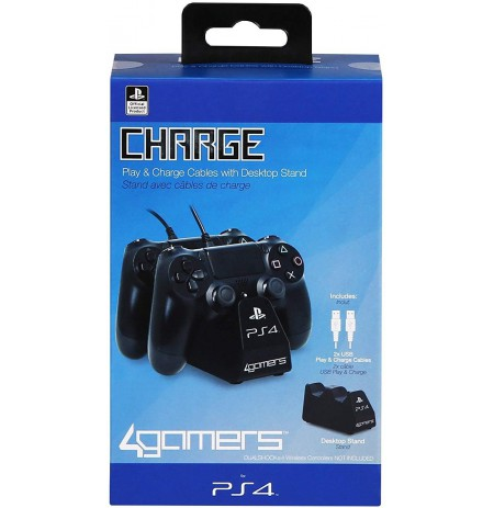 Charge Play and Charge Cables - Black