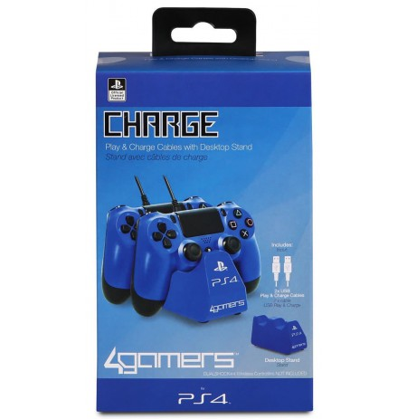 Charge Play and Charge Cables - Blue
