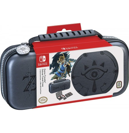 Game Traveler Deluxe Travel Case Zelda Breath of the Wild - Sheikah Eye