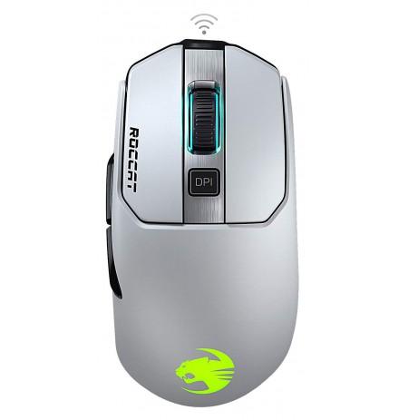 ROCCAT Kain 202 AIMO RGB balta belaidė pelė | 16000 DPI