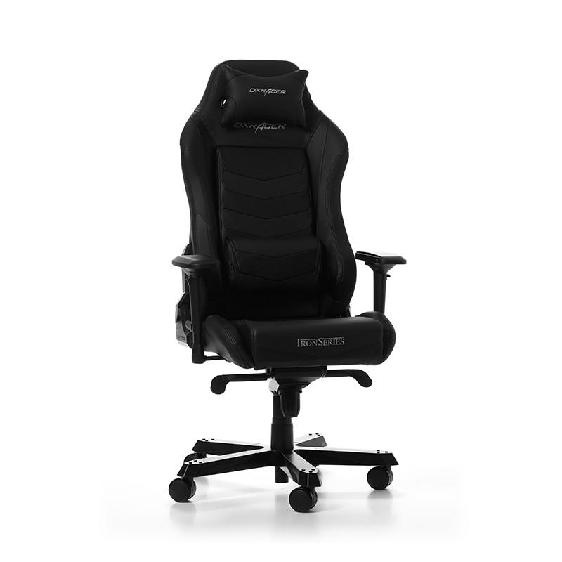 DXRACER IRON SERIES I166-N juoda ergonominė kėdė
