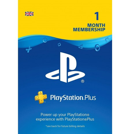 Playstation PLUS Card 30D (United Kingdom)