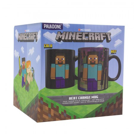 Minecraft Enderman Heat Change mug