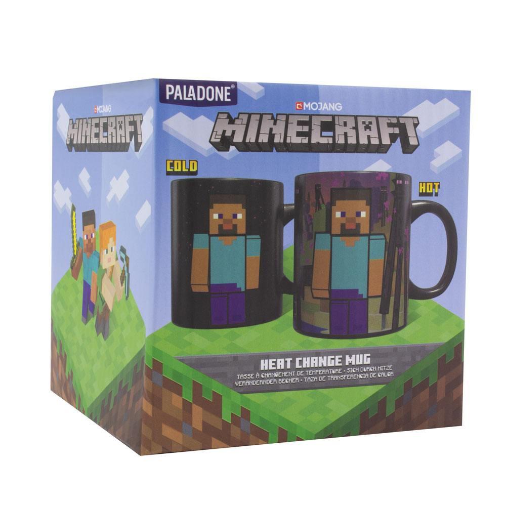 Minecraft Enderman spalvą keičiantis puodukas