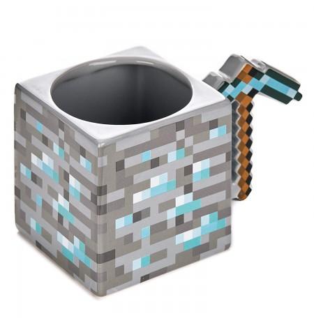 Minecraft Pickaxe 3D puodukas