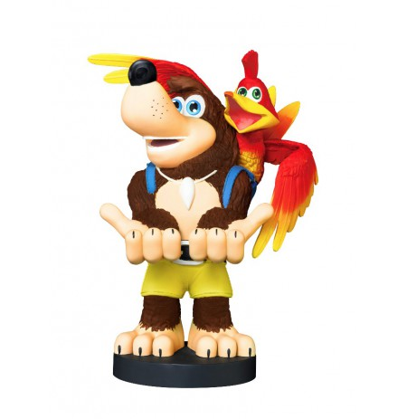 Banjo-Kazooie Cable Guy stovas