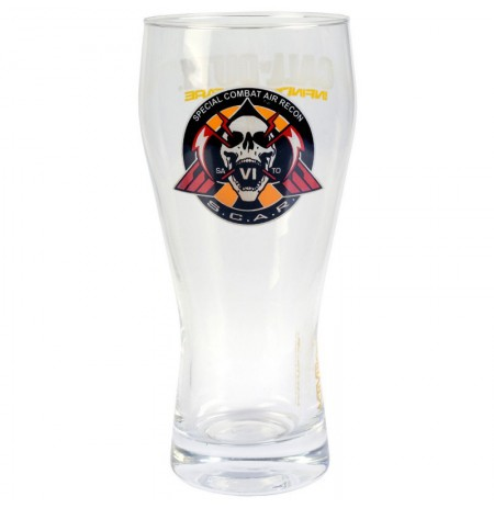 CALL OF DUTY BEER Glass