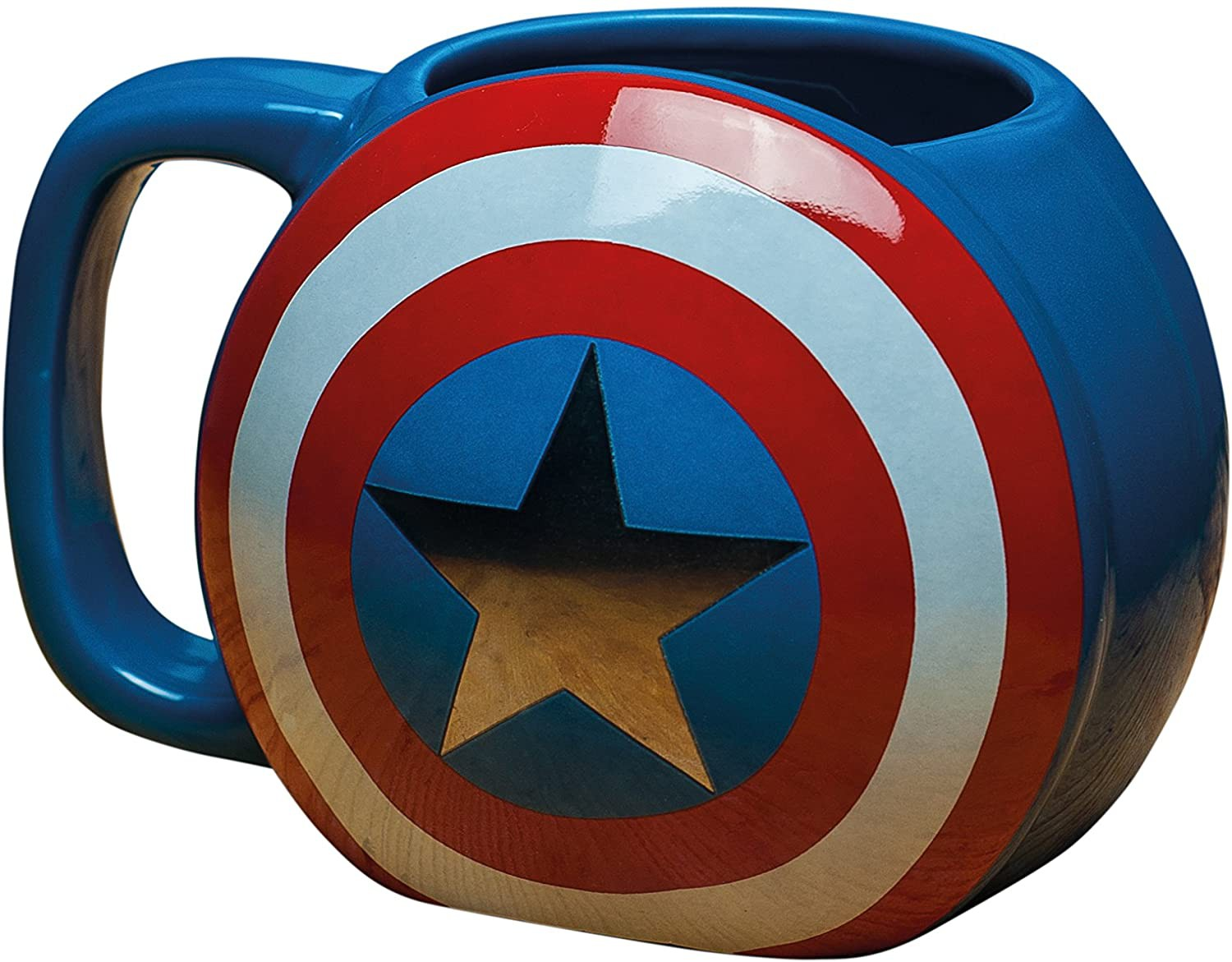 Captain America Shield 3D puodukas