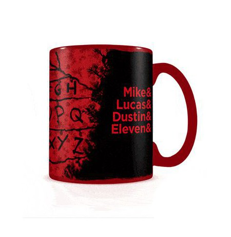 Stranger Things R, U, N Heat Change Mug