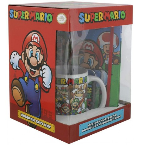 Super Mario Evergreen Notebook set