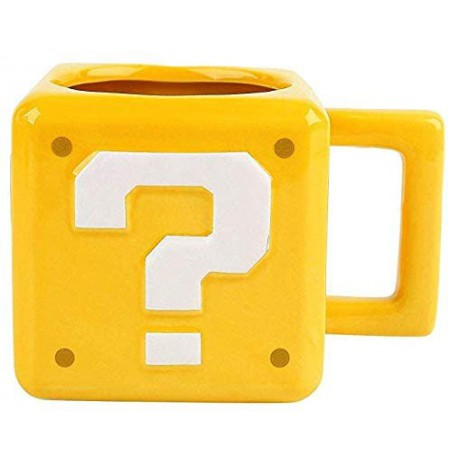 Super Mario Brothers Question Block  3D Mug