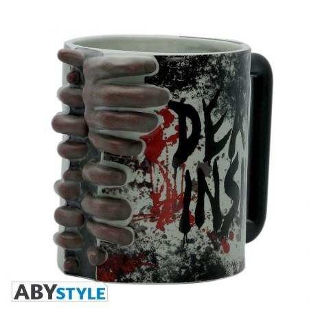 THE WALKING DEAD - Don't Open Dead Inside 3D Mug