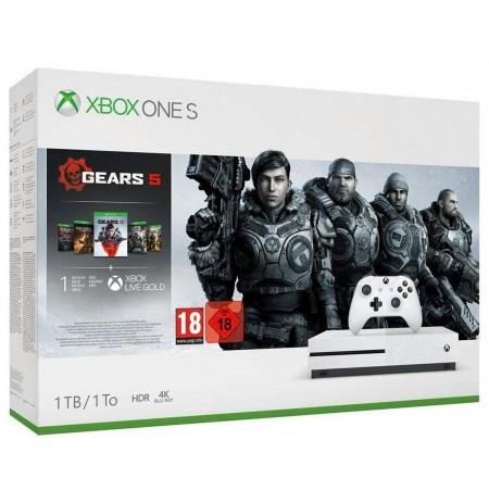 ŽAIDIMŲ KONSOLĖ Xbox One S 1TB balta