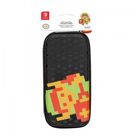 PDP Slim Travel Case -  Zelda Retro Edition For Nintendo Switch