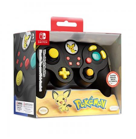 PDP Fight Pad Pro - Pichu laidinis valdiklis skirtas Nintendo Switch