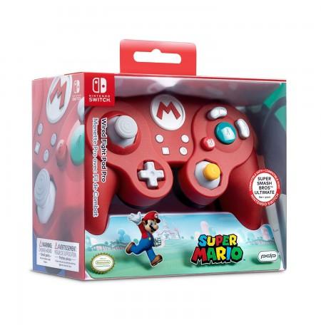 PDP Fight Pad Pro - Mario laidinis valdiklis skirtas Nintendo Switch