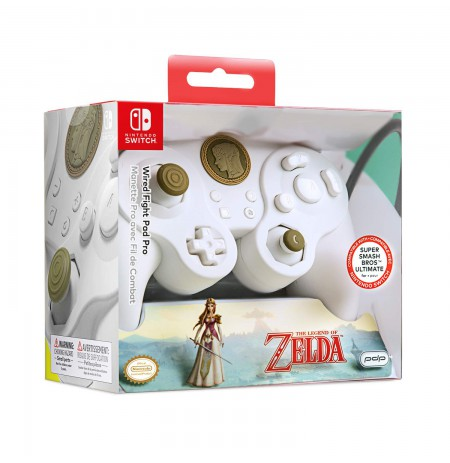 PDP Fight Pad Pro - Special Edition Zelda laidinis valdiklis skirtas Nintendo Switch