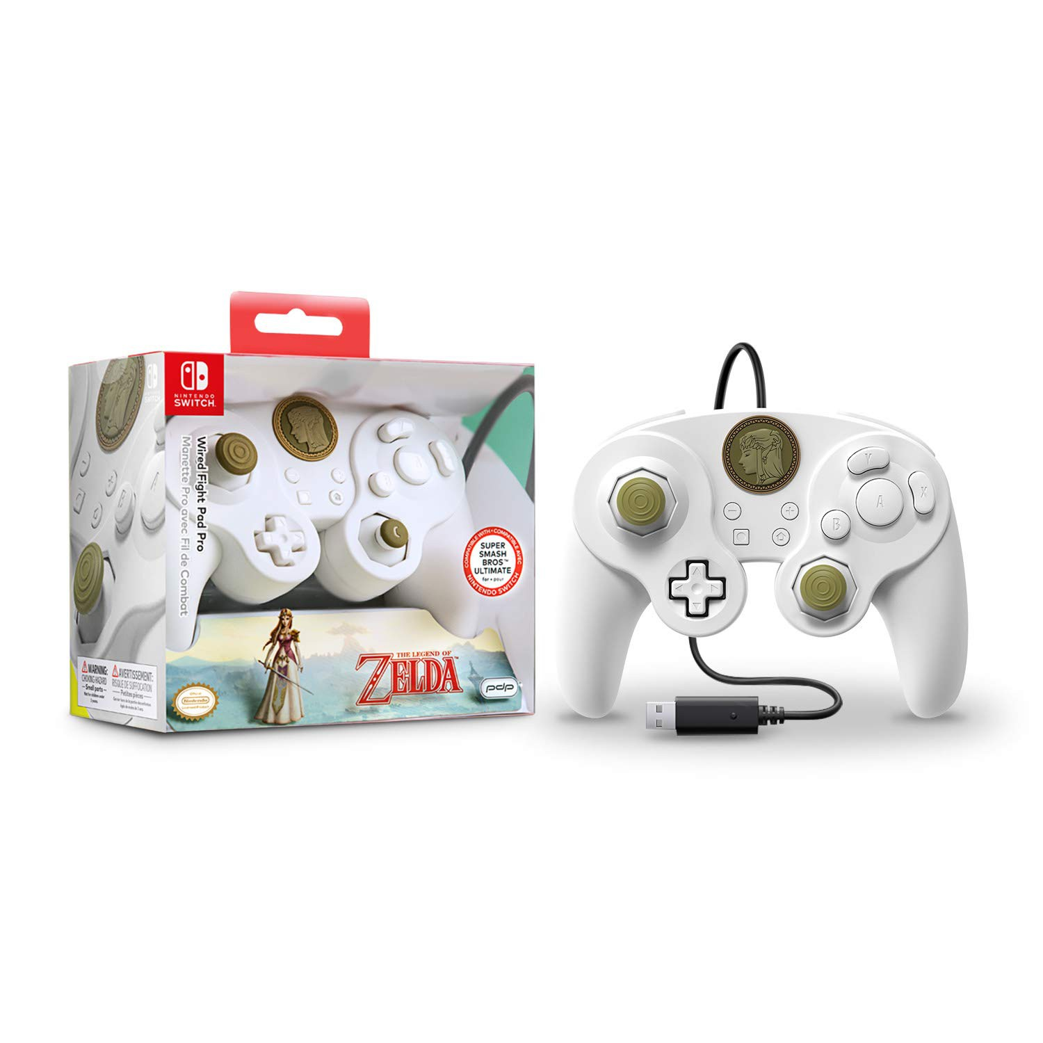 PDP wired Fight Pad Pro - Special Edition Zelda For Nintendo Switch