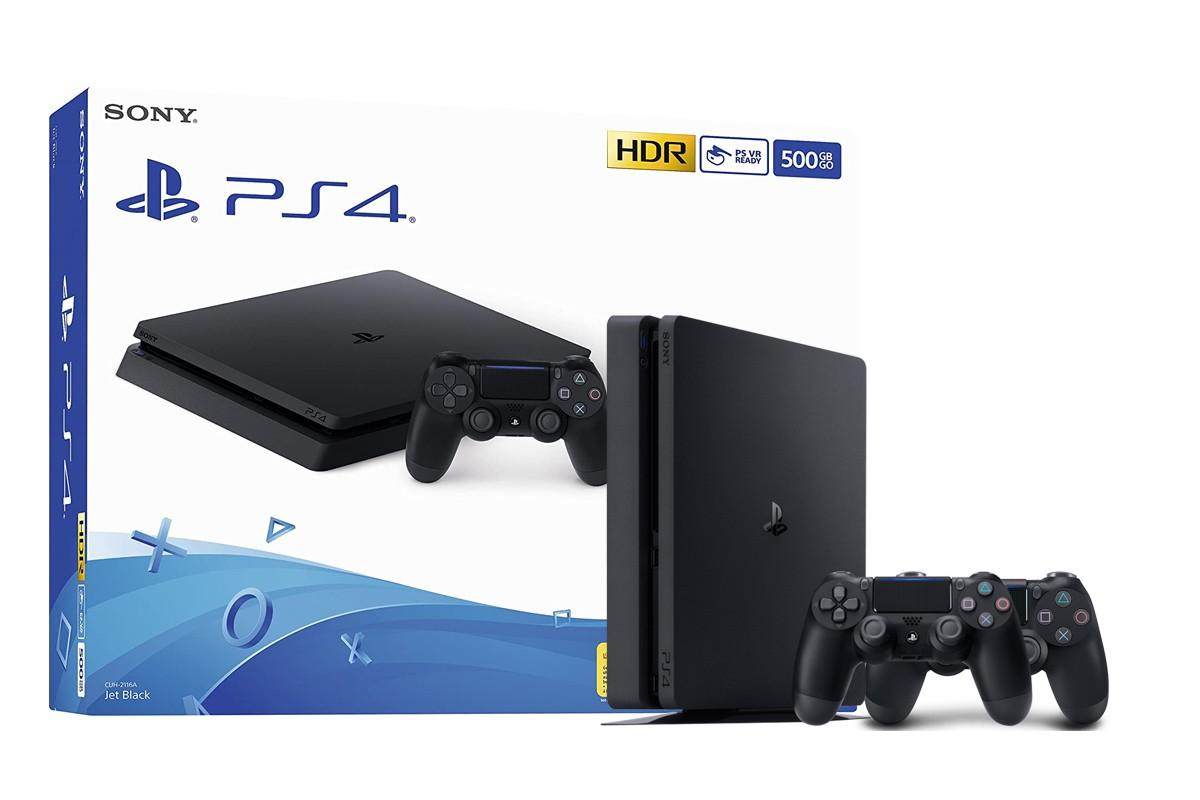 Žaidimų konsolė SONY PlayStation 4 (PS4) Slim 500gb - Dualshock Bundle