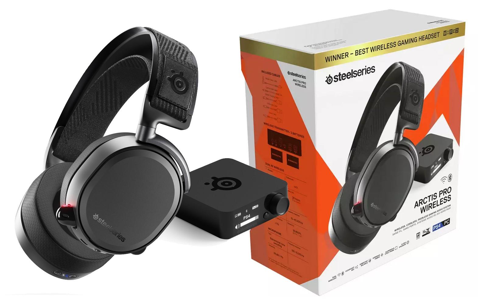Steelseries Arctis Pro Wireless Juodos belaidės ausinės